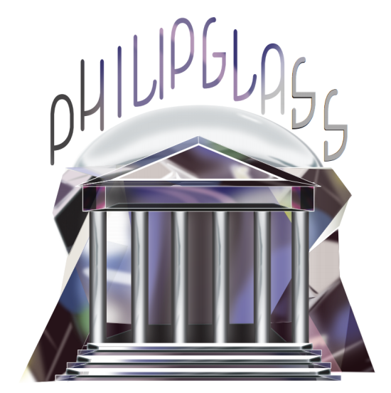 Philip Glass Residency Logo